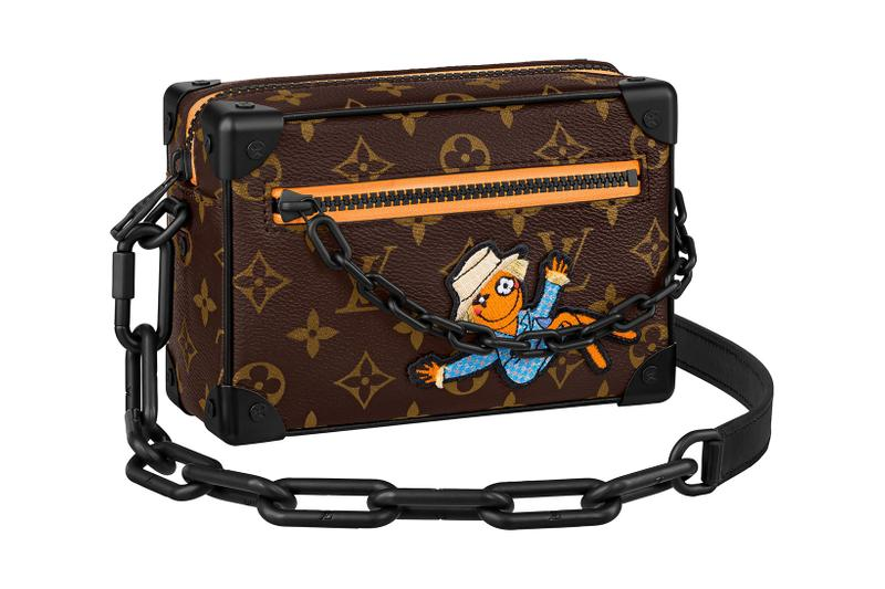 louis vuitton lv mens zoooom with friends spring summer 2021 ss21 collection virgil abloh accessories leather goods keepall mini soft trunk monogram