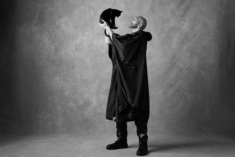 marine serre spring summer amor fati collection campaign cat outerwear coat shoes