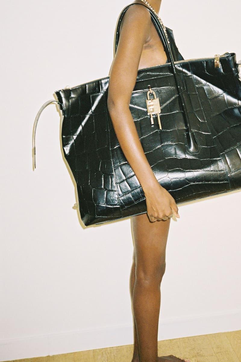 givenchy matthew williams unisex antigona handbags accessories oversized leather keys lock