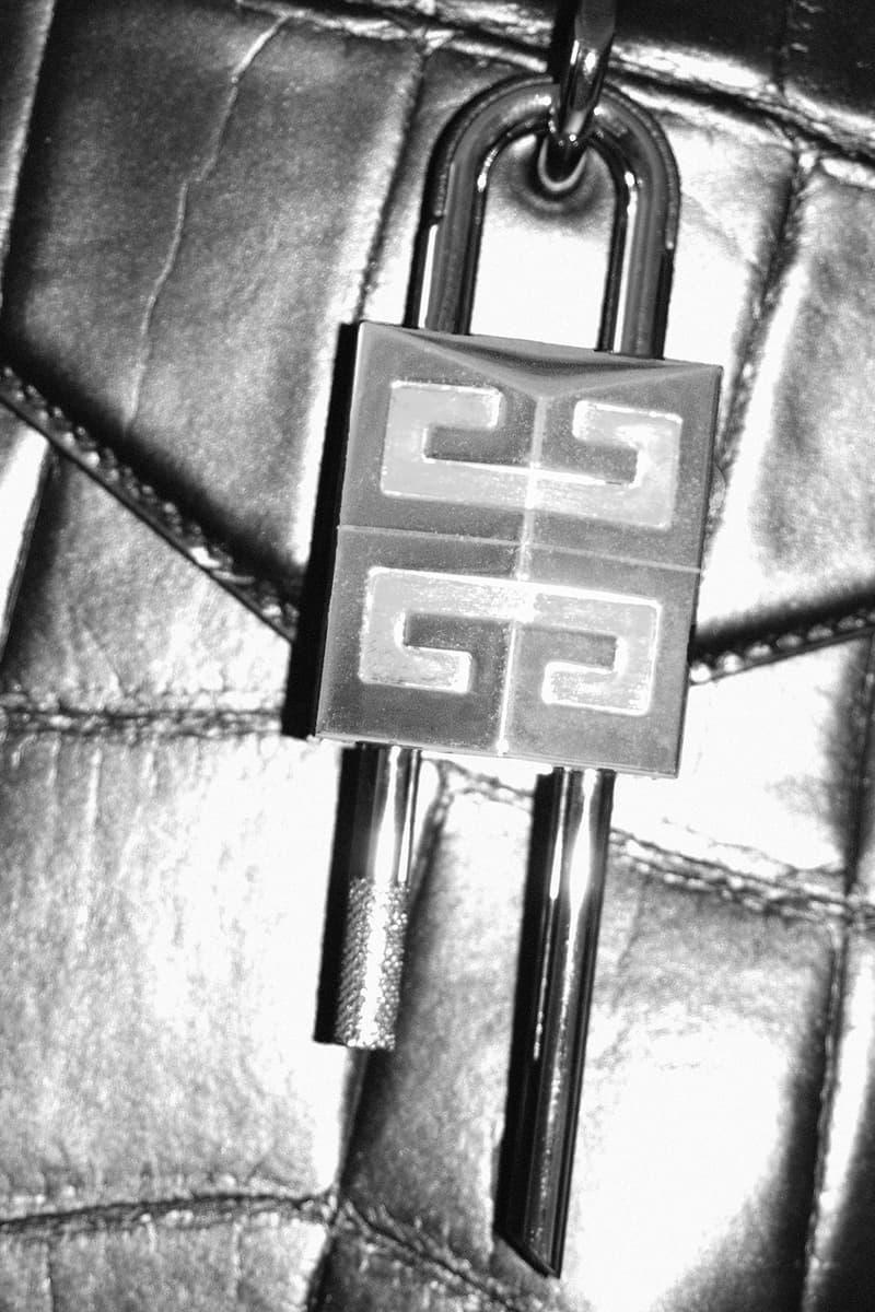 givenchy matthew williams unisex antigona handbags accessories logo padlock keys