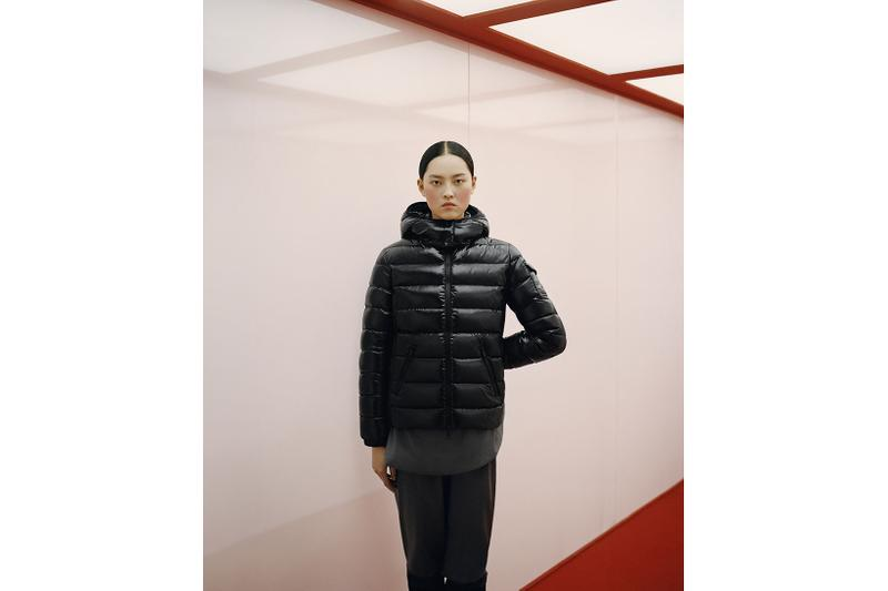 moncler lunar chinese new year of the ox campaign puffer black jacket