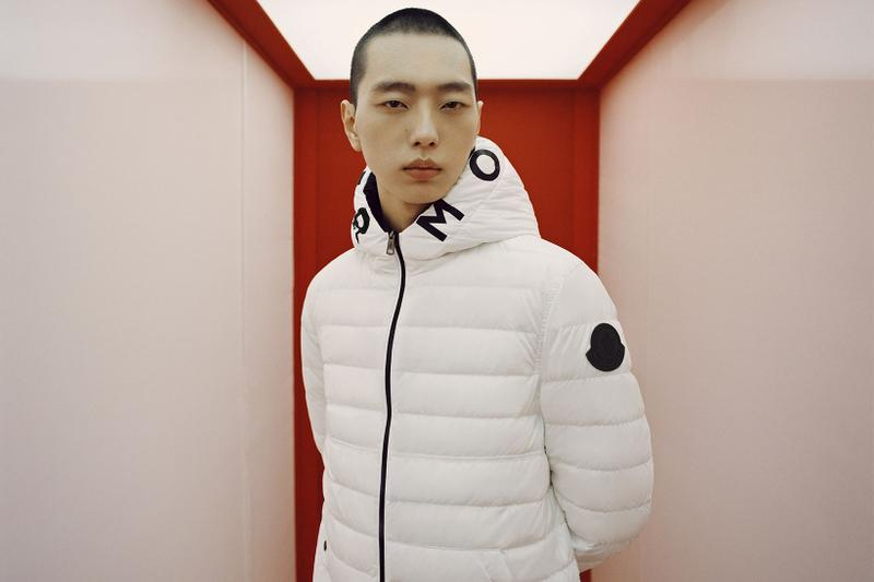 moncler lunar chinese new year of the ox campaign white puffer jacket jumper outerwear