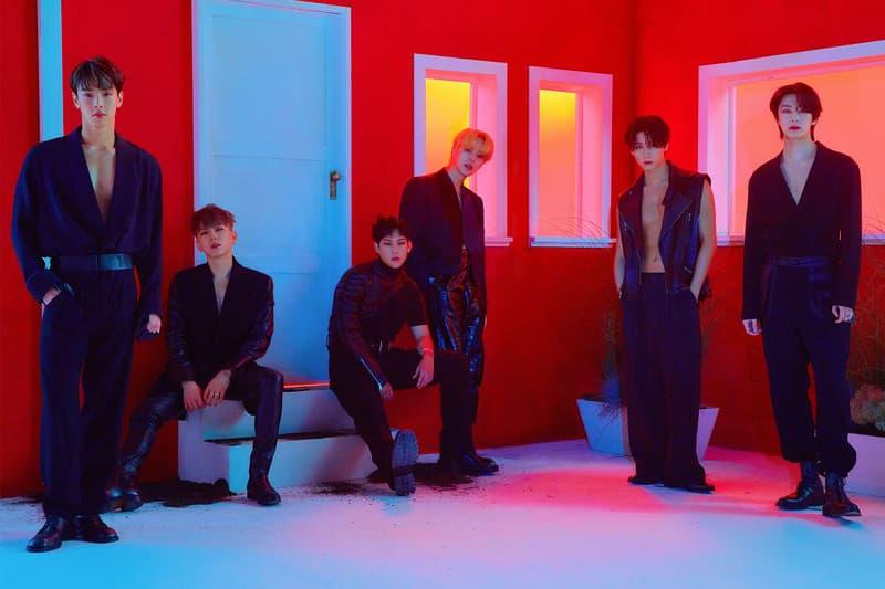 MONSTA X Fatal Love Concept Photo K-Pop Shownu Kihyun IM Hyungwon Joohoney Minhyuk