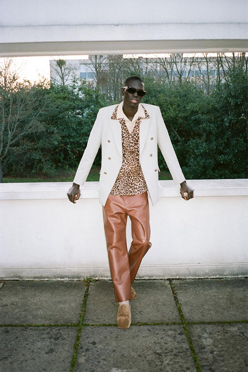 nanushka pre-fall 2021 collection lookbook menswear