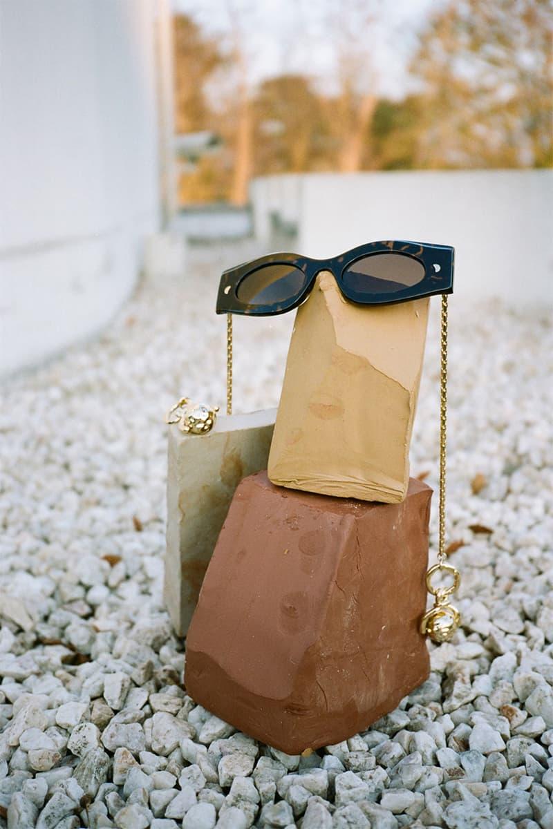 nanushka pre-fall 2021 collection lookbook sunglasses eyewear