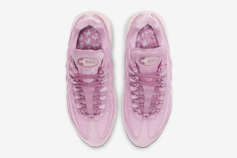 nike air max 95 am95 se mugunghwa korean flower fireberry pink womens sneakers
