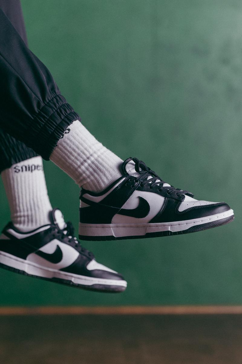 nike dunk new colorway snipes sneakers high low trainer online black grey white blue women's exclusive