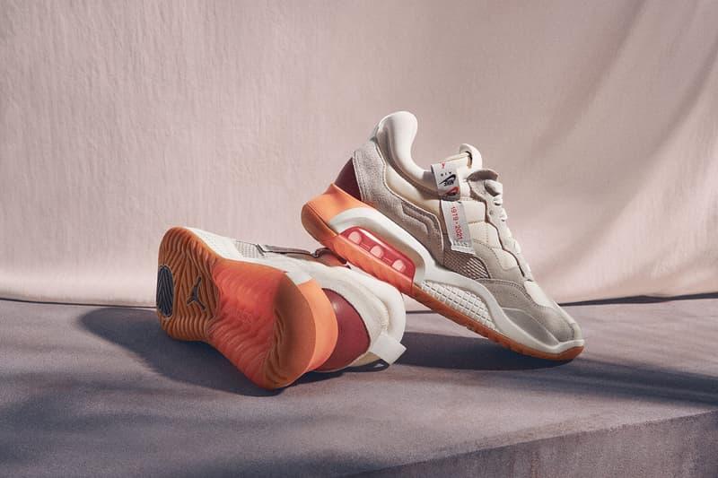 nike jordan brand womens ma 2 sneakers socks pink sneakerhead footwear close up shoes sole lateral