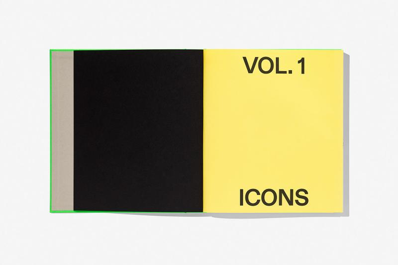 virgil abloh nike icons book retrospective collaboration taschen off-white neon green sneak peek pages vol 1
