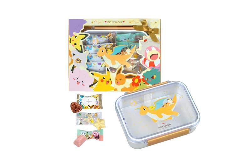 pokemon matsukazeya valentines day chocolates collaboration dessert pikachu mew dragonite ditto eevee box candy treats