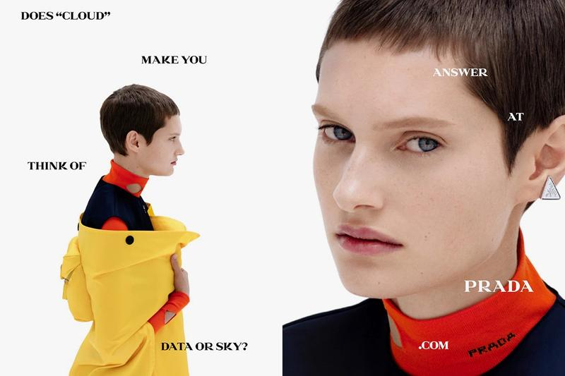 Prada Spring/Summer 2021 Campaign Raf Simons Collection Release Lookbook Imagery