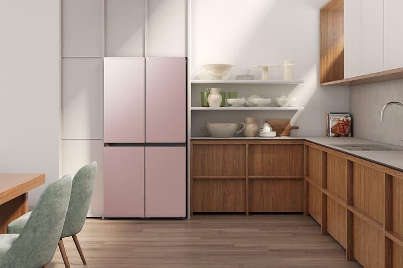 samsung bespoke refrigerator pink home kitchen gadgets appliances