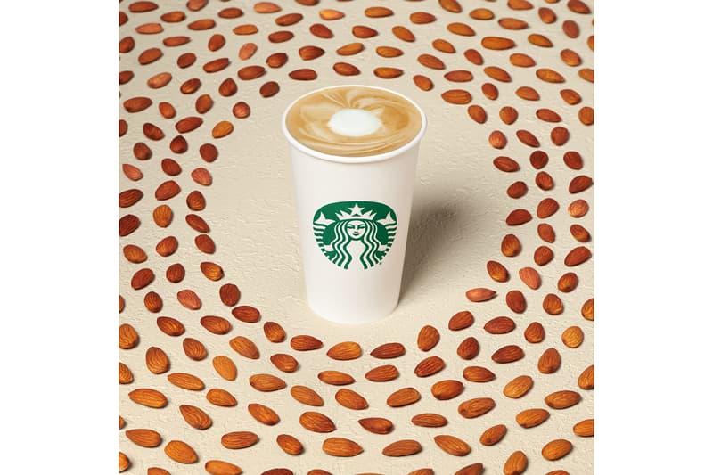 Starbucks Winter Drinks Menu 2021 Honey Almond Milk Flat White