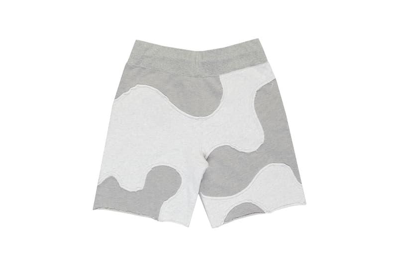telfar camo shorts apparel gray
