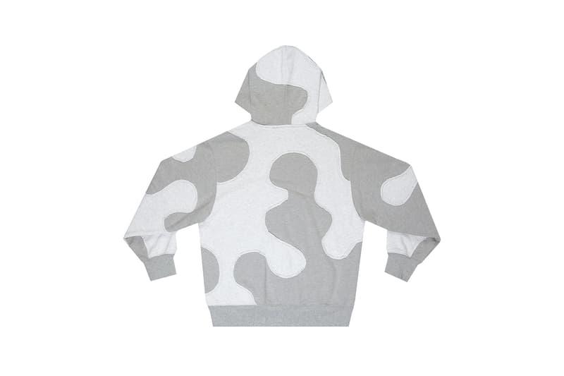 telfar camo hoodie winter apparel gray