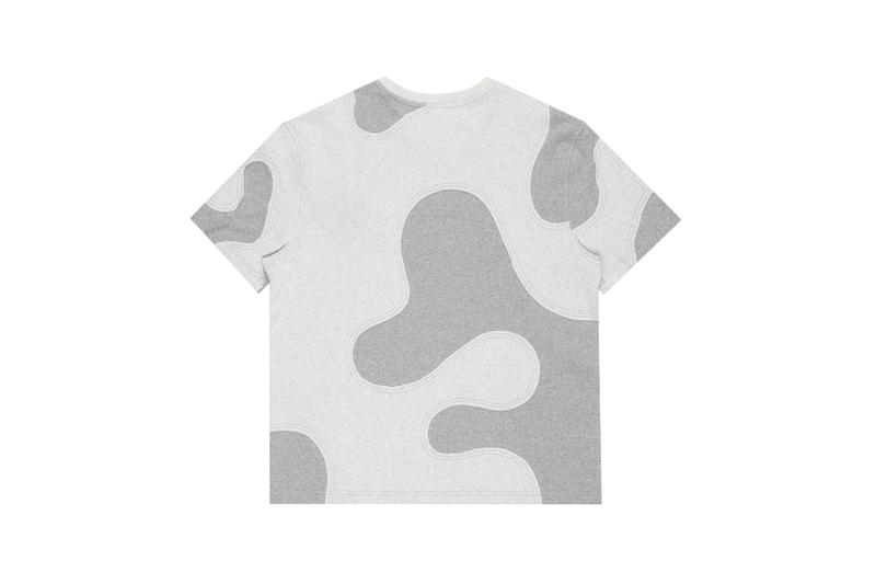telfar camo tee t shirt apparel gray