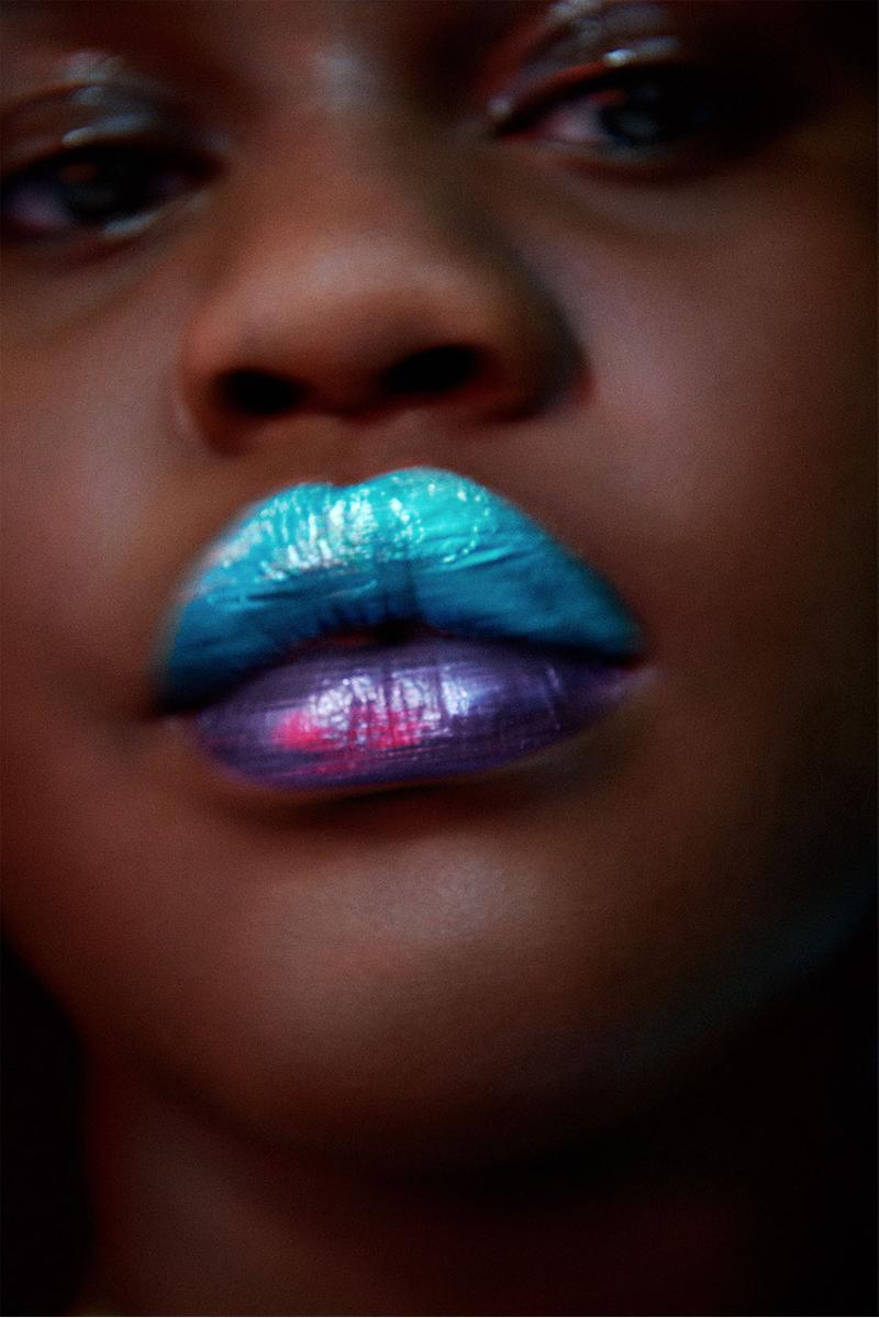 tood beauty brand launch campaign metallic color lipstick