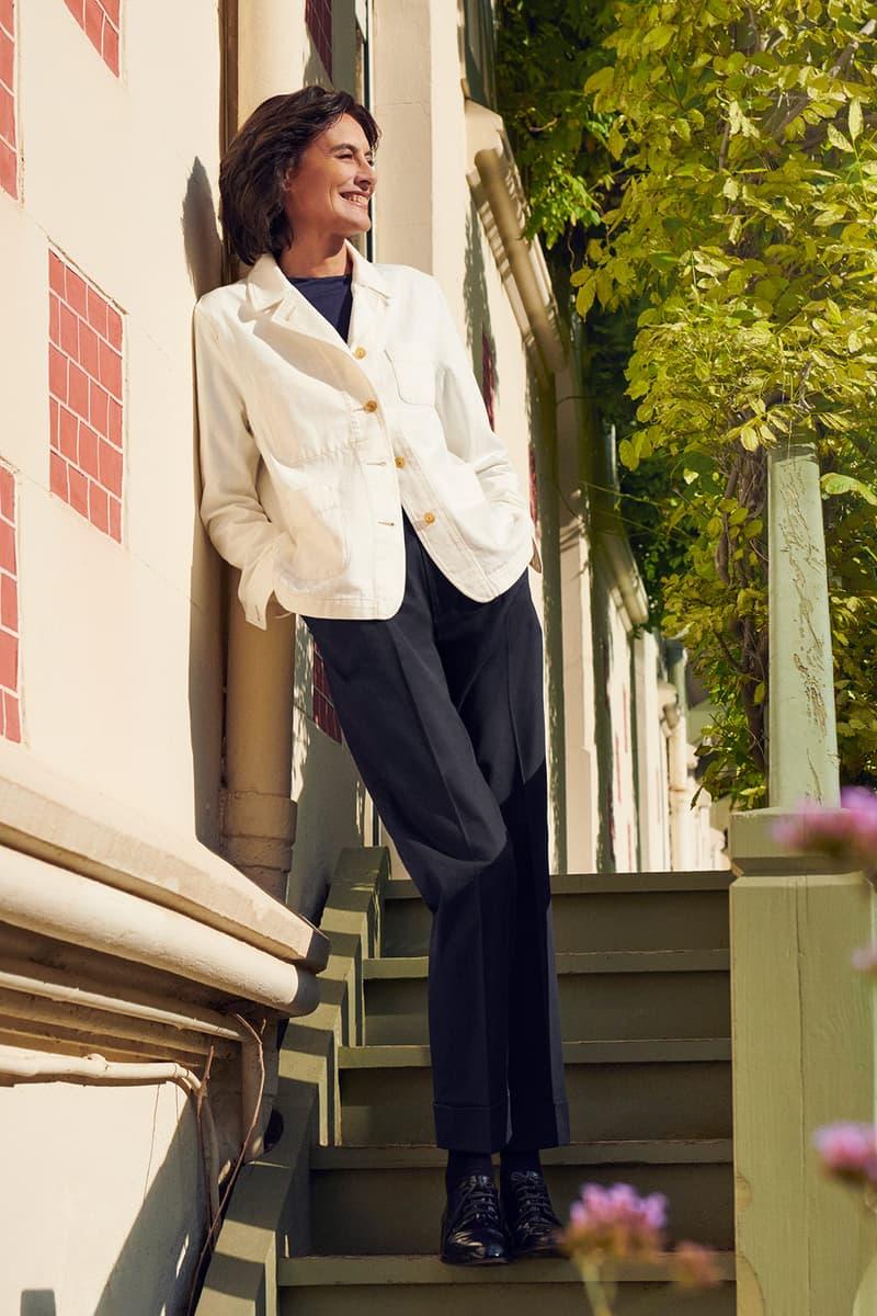 uniqlo ines de la fressange spring summer collaboration jacket pants shirt shoes