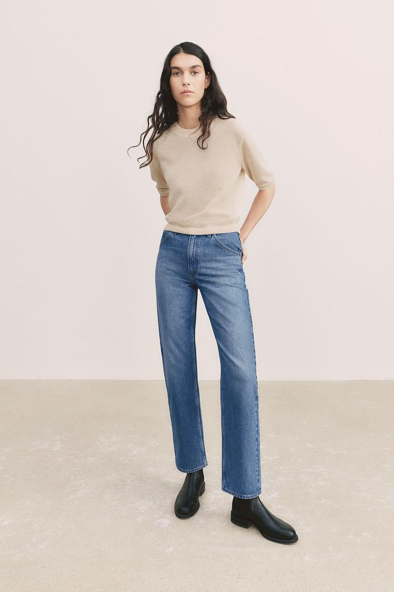 uniqlo u spring summer collection shirt denim jeans shoes