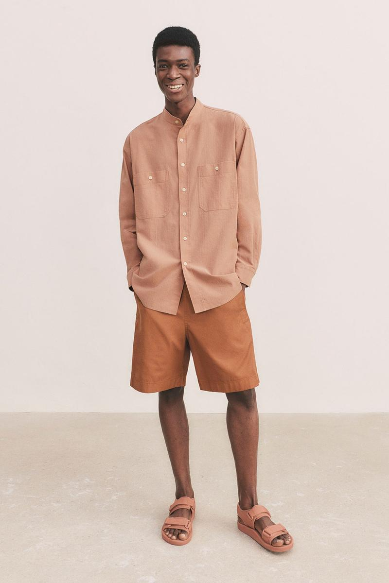 uniqlo u spring summer collection shirt shorts sandals
