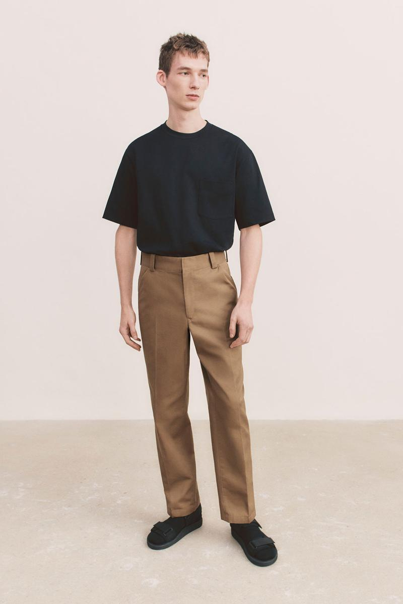 uniqlo u spring summer collection black tee t shirt pants shoes