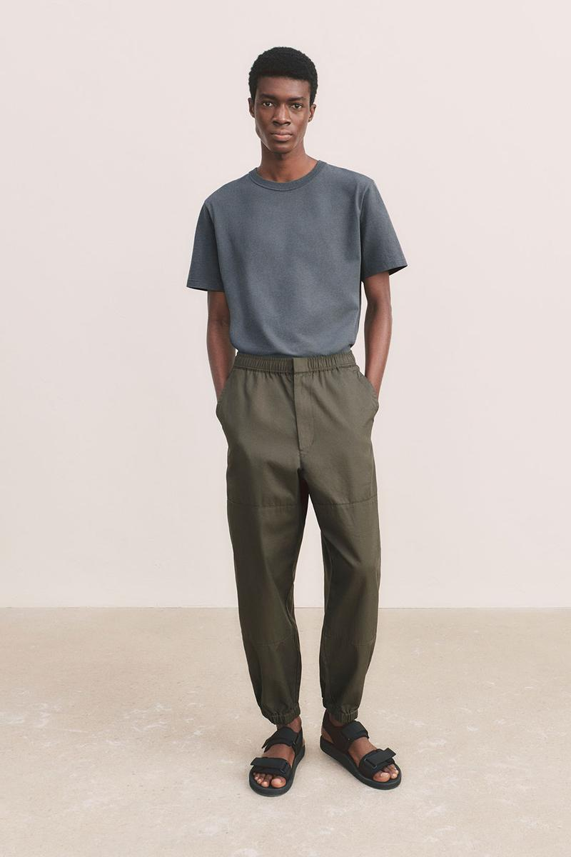 uniqlo u spring summer collection tee t shirt pants sandals