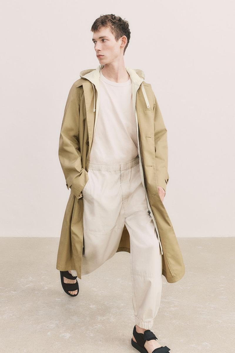 uniqlo u spring summer collection jacket coast tee t shirt pants sandals