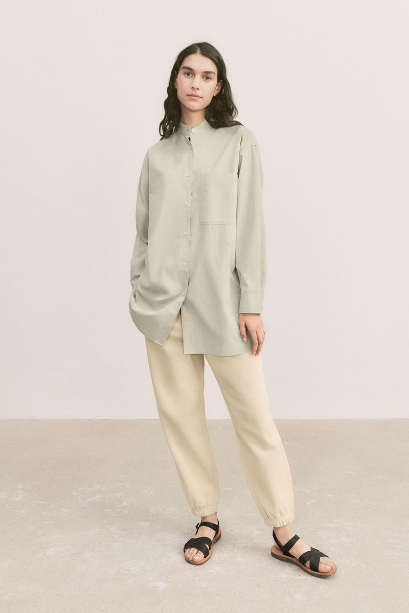 uniqlo u spring summer collection shirt pants sandals