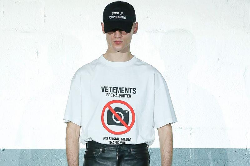 Vetements Returns to Paris Fashion Week Schedule Announcement Fall/Winter 2021 Season Collection
