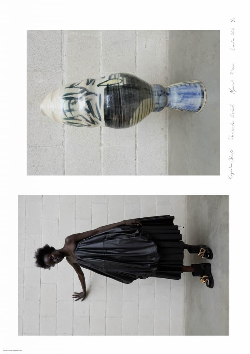 JW Anderson Fall/Winter 2021 Collection Presentation Juregen Teller Photography Posters Artist Collaborations