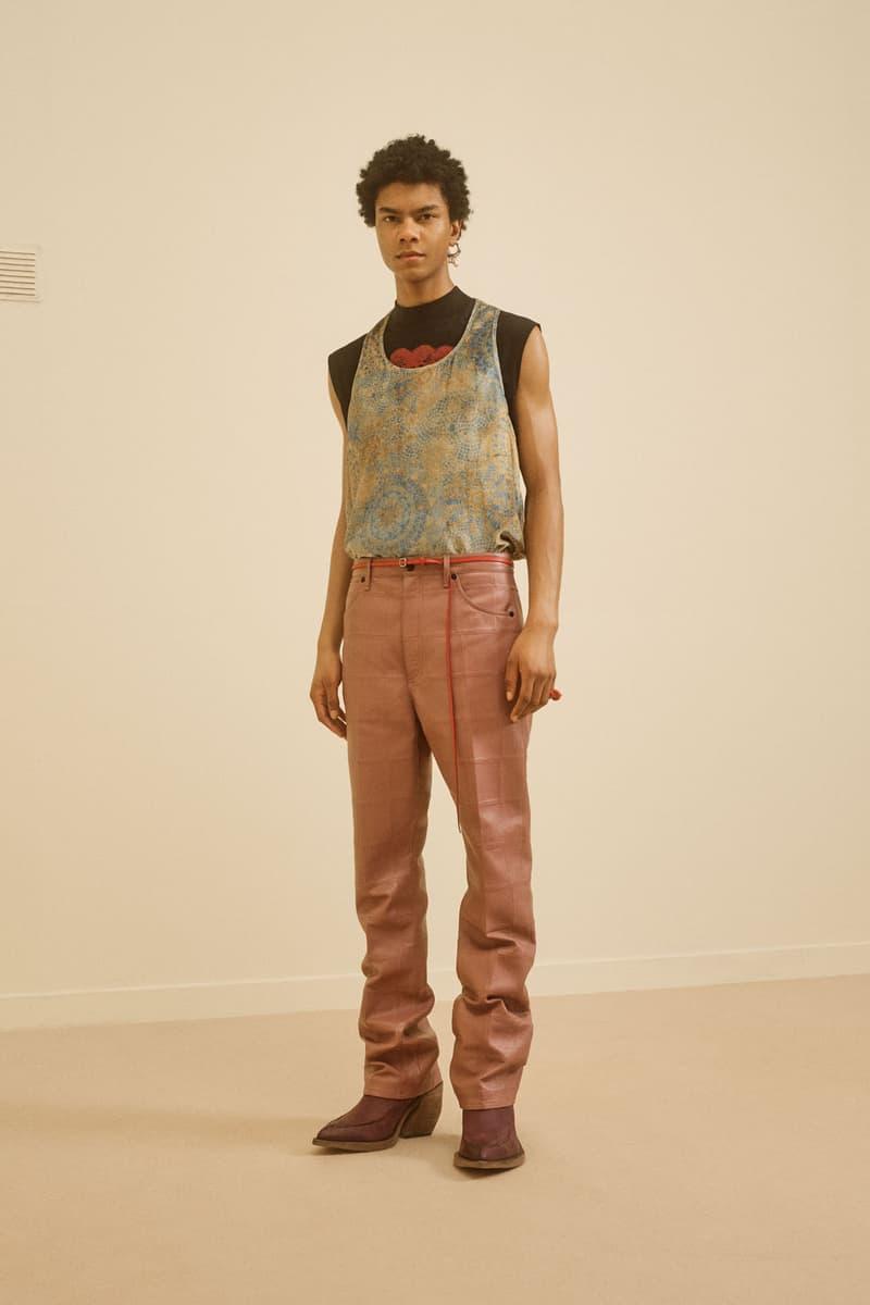 acne studios menswear fall winter 2021 fw21 collection lookbook vest t-shirt