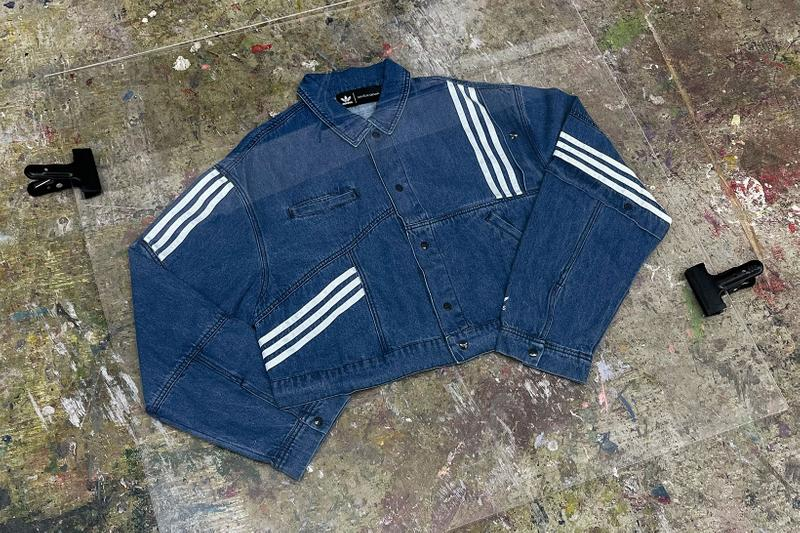 danielle cathari adidas originals collaboration denim jacket jeans online auction