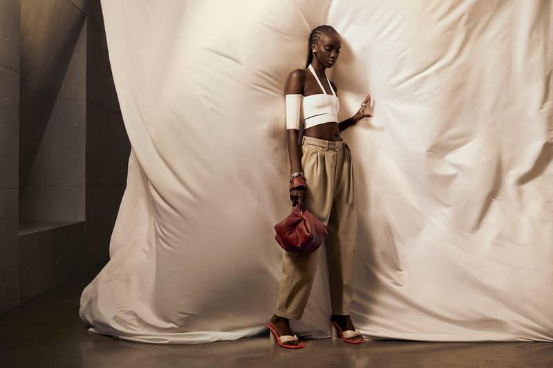 ambush yoon ahn spring summer campaign anok yai top pants designer bag heels jewelry