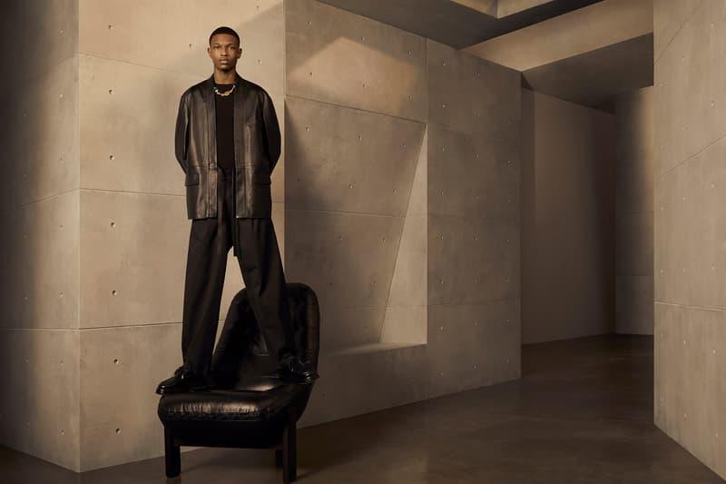 ambush yoon ahn spring summer campaign malik anderson jacket outerwear tee pants black