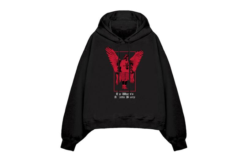 billie eilish blohsh merch the worlds a little blurry documentary collection hoodies black red hoodie