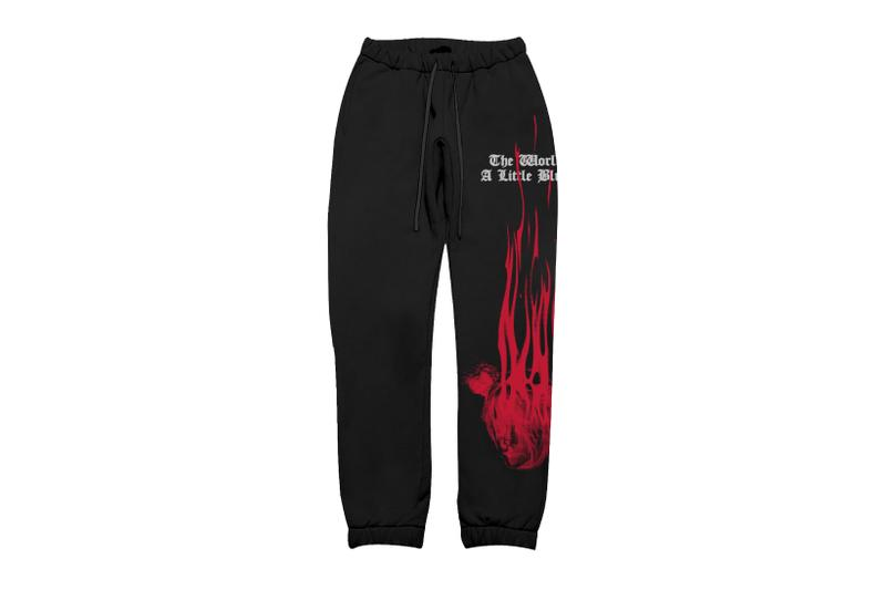 billie eilish blohsh merch the worlds a little blurry documentary collection hoodies sweatpants logo graphics