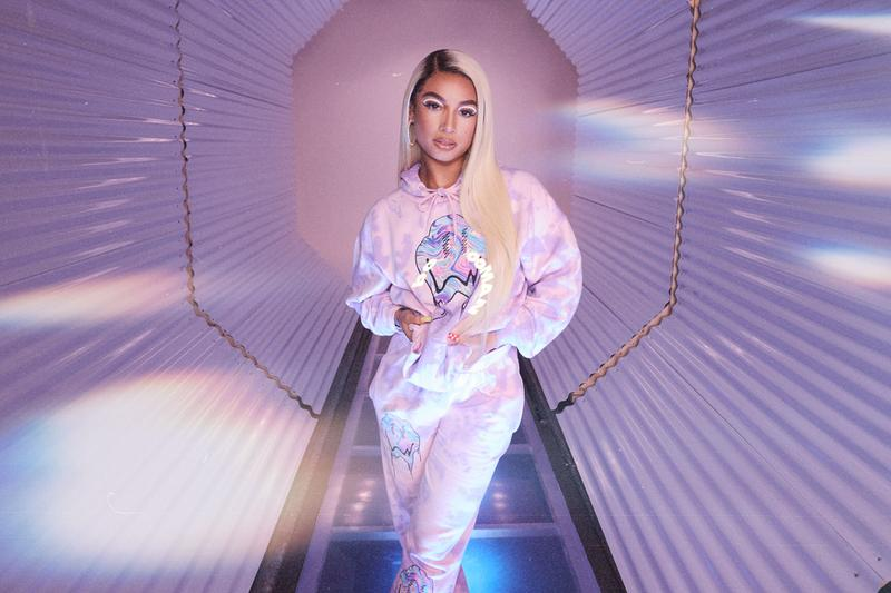 boohoo danileigh collaboration spring capsule collection tracksuit dress crop top