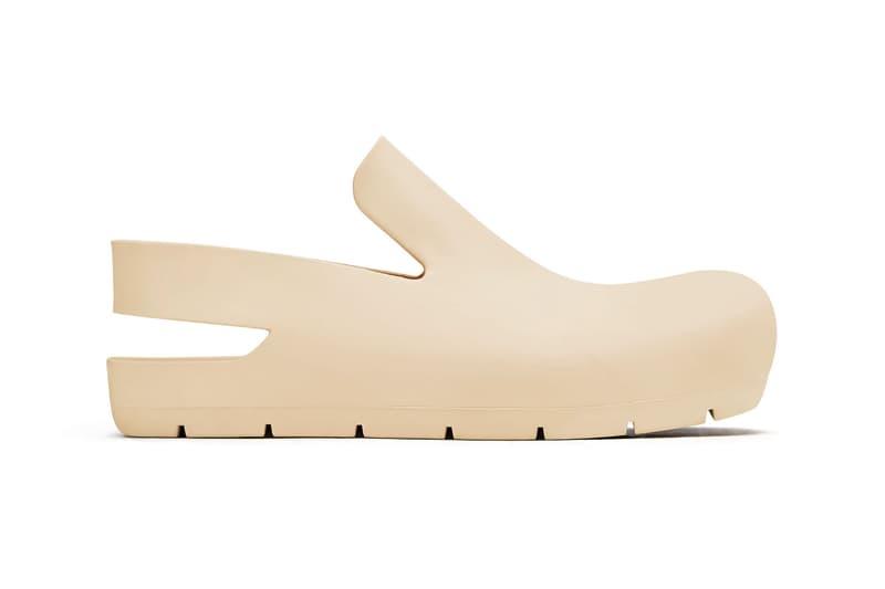 bottega veneta salon 01 footwear collection daniel lee clogs puddle boots ivory