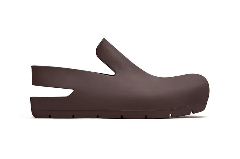 bottega veneta salon 01 footwear collection daniel lee clogs puddle boots brown