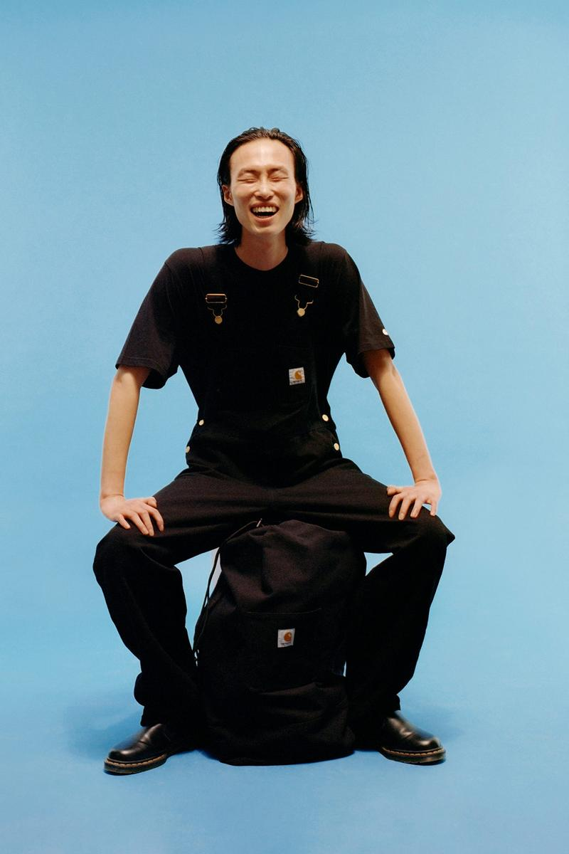 carhartt wip icons patina spring summer collection tee t shirt pants bag