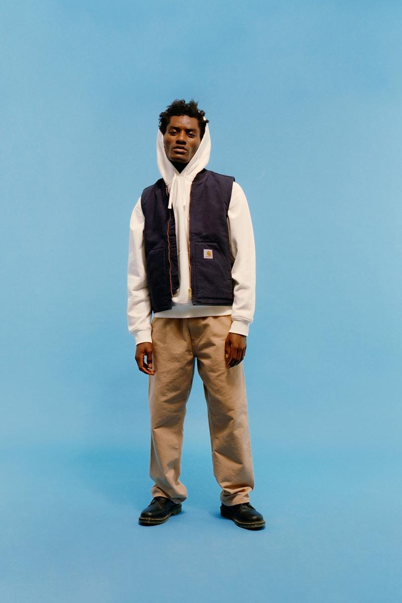 carhartt wip icons patina spring summer collection outerwear hoodie vest pants shoes