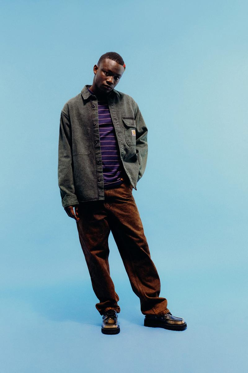 carhartt wip icons patina spring summer collection outerwear jacket pants shoes
