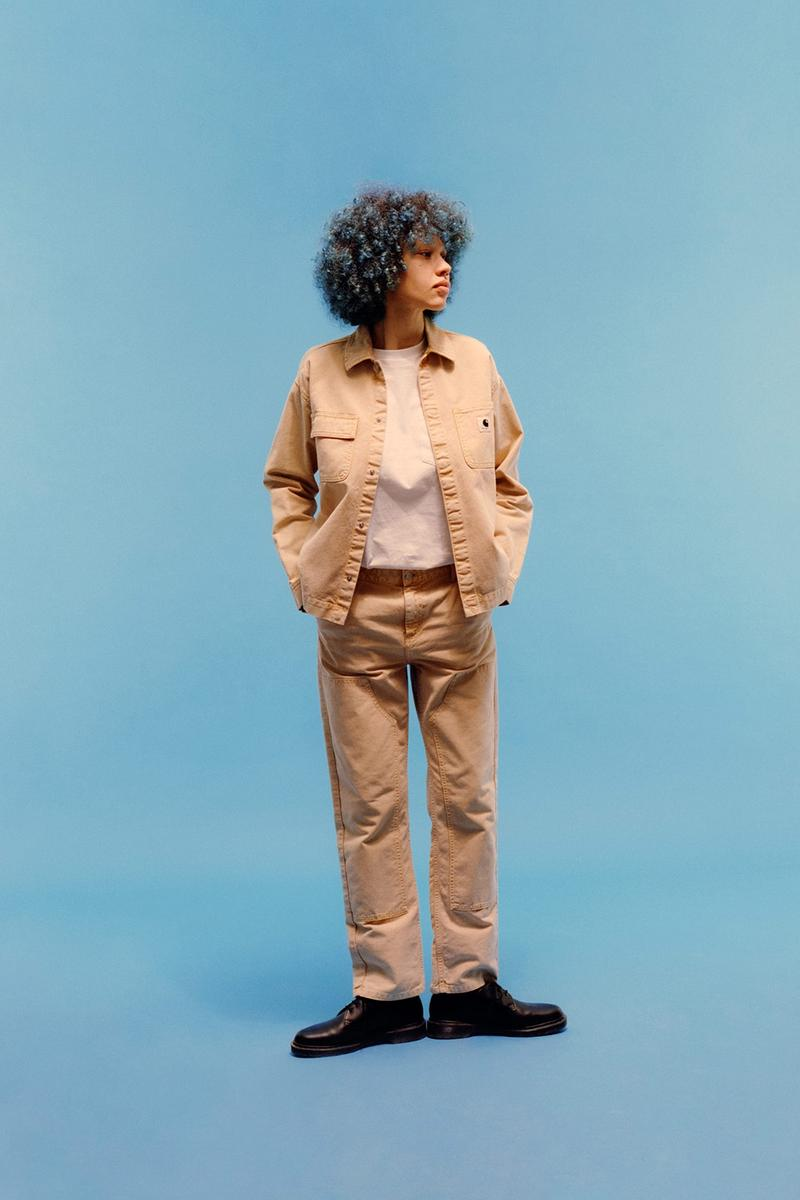 carhartt wip icons patina spring summer collection outerwear jacket tee pants shoes