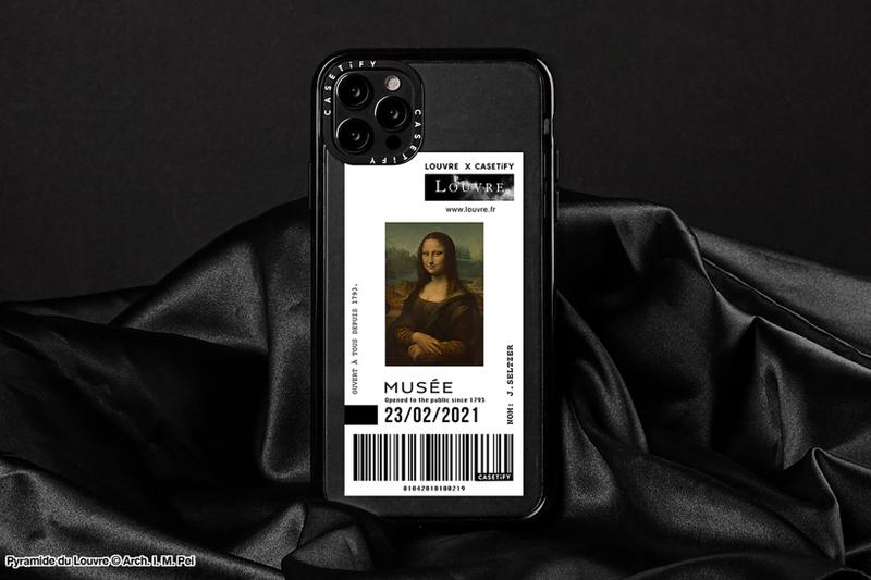 casetify musee du louvre collaboration cases apple iphone paris iphone