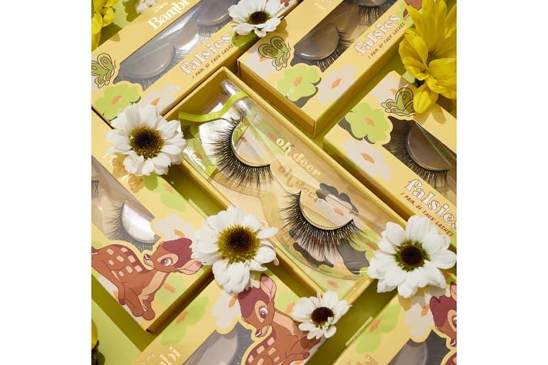 colourpop cosmetics disney bambi collaboration eyelashes falsies