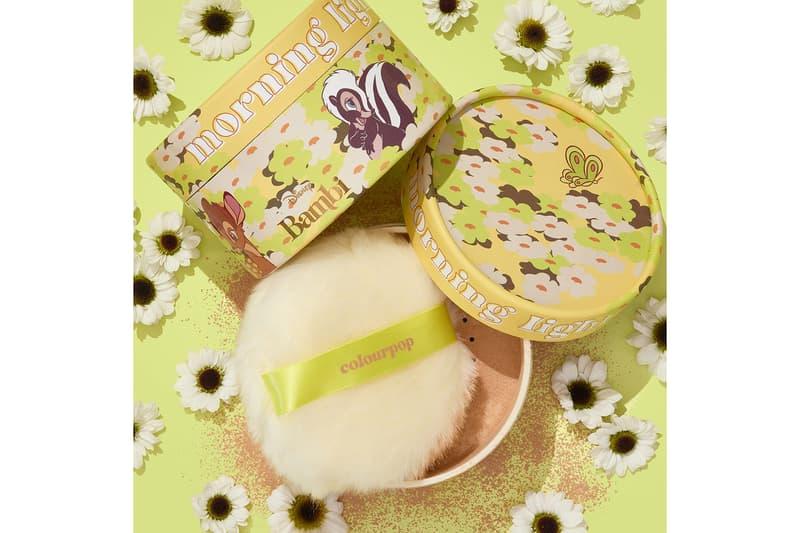 colourpop cosmetics disney bambi collaboration pouff