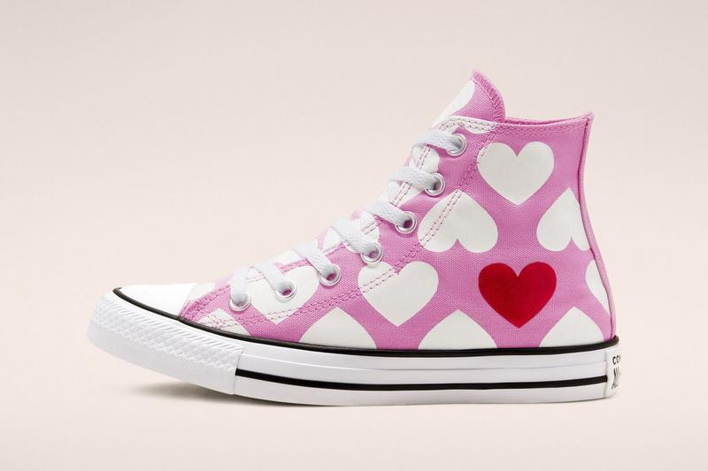 Converse Valentine's Day Pack Chuck 70 White Heart