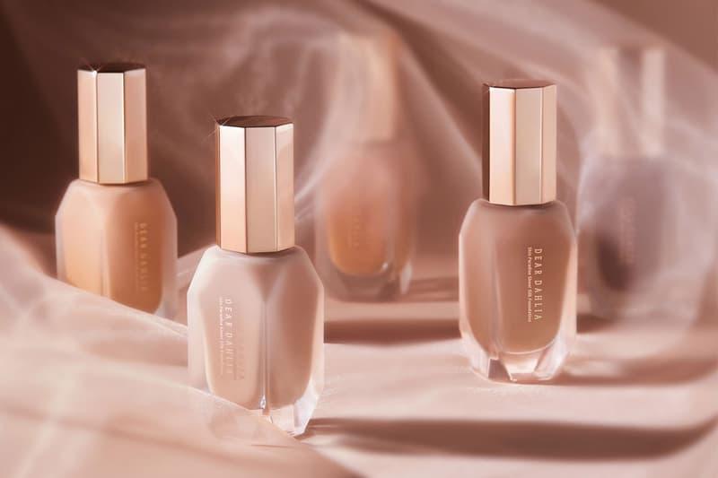 dear dahlia foundation vegan k-beauty makeup skin paradise sheer silk bottles
