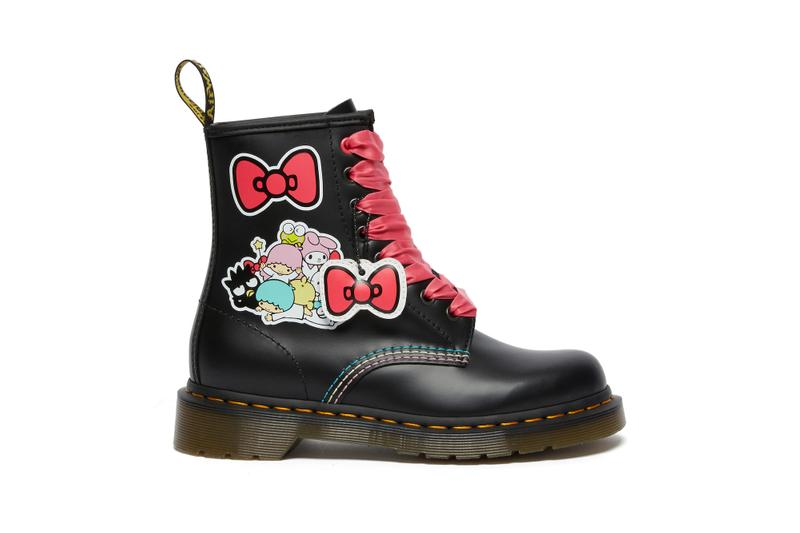 Dr. Martens x Sanrio Hello Kitty and Friends Release Leather Boots Keroppi My Melody Badtz-Maru