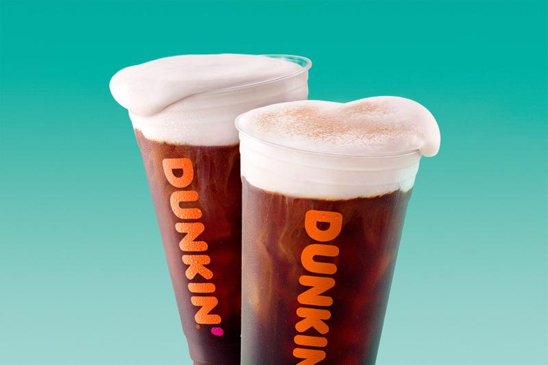dunkin donuts cold brew sweet cold foam chocolate stout flavored coffee